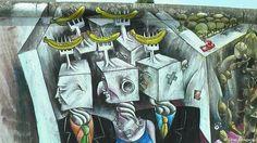 East Side Gallery: Visión apocalítica
