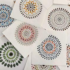 Mandalas. Art by Claudia Calderas