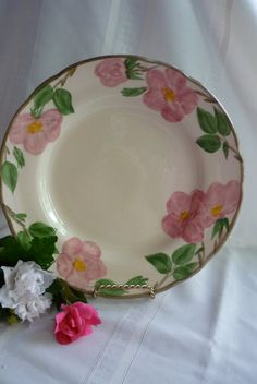 Desert Rose Dinner Plate by Franciscan Ware by LindsayJanesCottage, $12.00       this was my grandmothers pattern