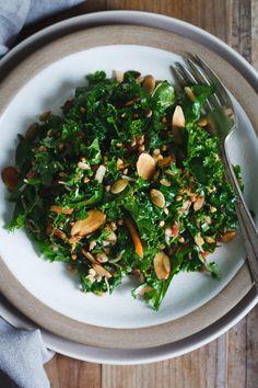 Kale Salad with Toas