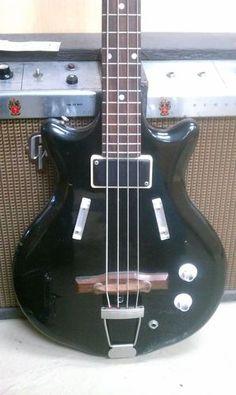 Vintage USA Supro Pocket Bass Guitar Valco | eBay