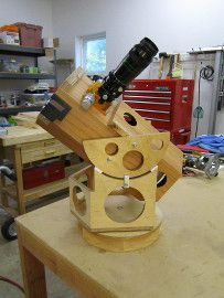Mel Bartels' Amateur Telescope Making