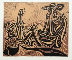 Picasso Linocuts - After the Vintage