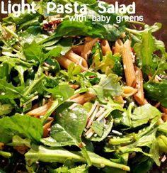 1000+ images about Salad on Pinterest | Light pasta salads, Fresh corn ...