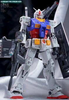 MG THE ORIGIN RX-78-02 ガンダム