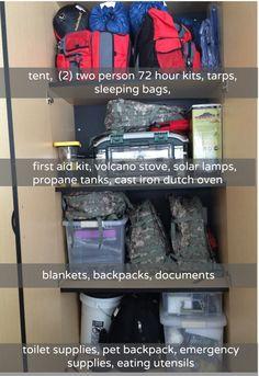 Emergency Prep: Supplies!