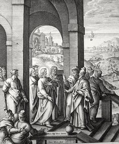 Phillip Medhurst presents Bowyer Bible print 3654 The Pharisees seek after a sign Matthew 12:38-45 Passeri on Flickr. A print from the Bowyer Bible, a grangerised copy of Macklin's Bible in Bolton Museum and Archives, England.