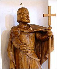 Életéről három legendaváltozat is ránk maradt. Hungary History, Craft Art, Roots, Buddha, Saints, Arts And Crafts, Statue, Hungary, Art Background