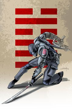 Snake Eyes by SachaLefebvre.deviantart.com on @deviantART