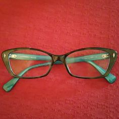 ee729a2092 Prodesign Denmark Vision Glasses Tortoise and turquoise eyeglasses.  Prescription lenses will need to be removed and replaced with your own  prescription. NO ...