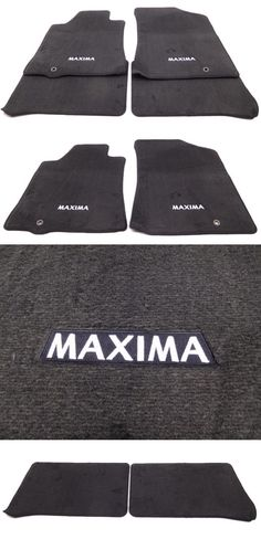 Auto Parts   General: New Oem Nissan Maxima Floor Mat Set Of 4 Black Front
