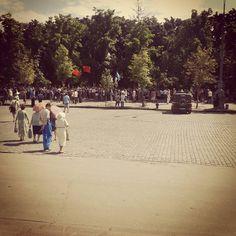 Харьков. Митинг. Коммунисты.