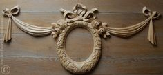 Garland carved in wood | Architectural woodcarving | Ornamental woodcarving | High relief carving