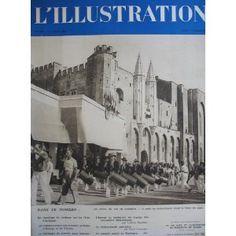 L'Illustration - n°4979 - 06/08/1938 - Les fêtes du vin en Avignon [magazine mis en vente par Presse-Mémoire]
