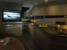 Cabin of Luxury Yacht by Art of Kinetik