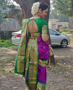 Kashta Saree, Sarees, Beautiful Girl Indian, Beautiful Women, Marathi Saree, Marathi Wedding, Nauvari Saree, Indian Bridal Outfits, Sexy Blouse