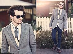 Herringbone  (by Ben Galbraith) http://lookbook.nu/look/3201121-Herringbone