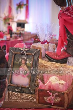 Western Themed Quince • See more at http://www.ldoweddings.com/western-theme/