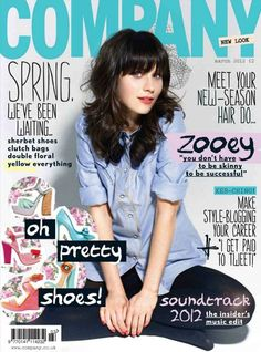 Zooey Deschanel for 'Company' Magazine