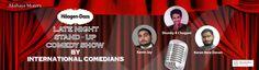 Late Night Comedy Presented by Mercedes Benz (Akshaya Motors) @ Haagen Dazs - http://explo.in/1TkyQyU #Bangalore #Comedy