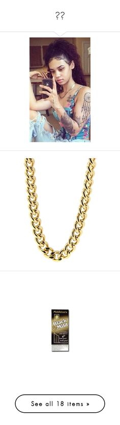 """""""✨🍃"""" by saucinonyou999 ❤ liked on Polyvore featuring men's fashion, men's jewelry, men's necklaces, mens curb chain necklace, mens necklaces, mens gold plated necklace, mens watches jewelry, mens curb chain, tops and t-shirts"""