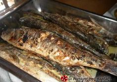 Great recipe for Grilled fish. A fast dish that is tasty and full of flavor for those who love fish! Recipe by evdoba Greek Recipes, Desert Recipes, Fish Recipes, Seafood Recipes, Cooking Recipes, Recipies, Good Food, Yummy Food, Greek Cooking