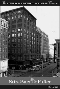 The history of Department Store Museum: Stix, Baer & Fuller, St. St Louis Downtown, St Louis Mo, Travel Oklahoma, New York Travel, City Buildings, Department Store, Thailand Travel, Old Pictures, Missouri