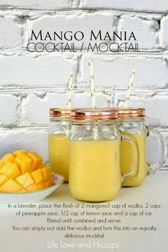 Life Love and Hiccups: Mango Mania