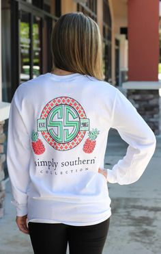 """The first thing that popped into my head was, """"Okay, that redneck brand's logo looks waaay too much like a Swastika.""""<<< who tf is this ur dumb Simply Southern Shirts, Southern Outfits, Preppy Outfits, Fall Outfits, Cute Outfits, Preppy Clothes, Comfy Clothes, Casual Clothes, Summer Outfits"""