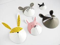 DIY animal paper masks by La maison de Loulou-7