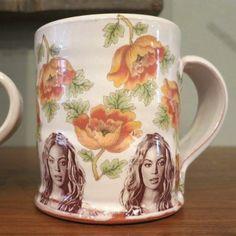 Beyonce Flower Mug $52 at www.pinchgoods.com