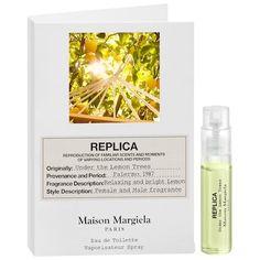 Maison Margiela Lemon Tree Fragrance Samples, Sephora, Lemon, Basket, Hair, Style, Eau De Toilette, Swag