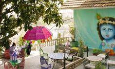 """Lost in Esplanada Bar"", Lisbon. Magnificent views and cosy environment."