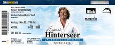 """Hansi Hinterseer - Mit """"Das Beste zum Jubiläum"""" geht Hansi Hinterseer im Frühjahr 2014 auf eine ausgedehnte Tournee. 21.03.2014, Zürich, Hallenstadion. http://www.ticketcorner.ch/Tickets-hansi-hinterseer-zuerich.html?affiliate=PTT&doc=artistPages%2Ftickets&fun=artist&action=tickets&erid=612460&kuid=400953"""