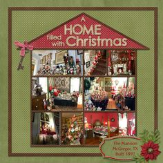 A Home filled with Christmas