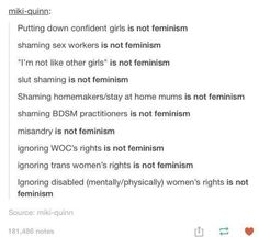 This is important for those radical feminists out there.