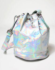 Motel Bucket Bag in Iridescent #PINTOWIN
