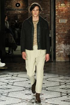 Billy Reid Fall 2017 Menswear Fashion Show Collection: See the complete Billy Reid Fall 2017 Menswear collection. Look 18 Vogue Paris, Winter 2017, Fall Winter, Mens Highlights, Billy Reid, Mens Fall, Fashion Show Collection, Style Me, Menswear