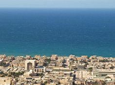 beautiful Libyan beach
