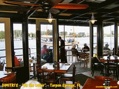 Dimitriu0027s Greek Restaurant On The Waterfront In Tarpon Springs, Florida,  (On The Road. Tarpon Springs FloridaGreek RestaurantsTampa BayBay AreaThe  Road