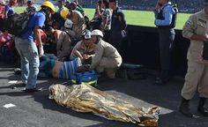 Cinco muertos en una estampida de aficionados en el Estadio Nacional de Tegucigalpa