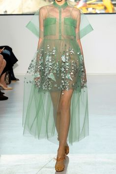 DELPOZO | Oversized embroidered tulle gown | NET-A-PORTER.COM