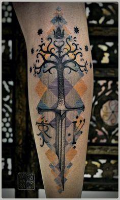 LOTR tattoo