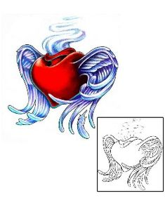 Sacred Heart Tattoos Created by Karin Ackerman Tattoo Sketches, Tattoo Drawings, Cute Heart Drawings, Tribal Drawings, Sacred Heart Tattoos, Heart Tattoo Designs, Sketchbooks, Body Art Tattoos, Drawing Ideas