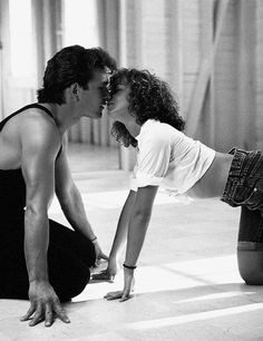 """Me? I'm scared of everything. I'm scared of what I saw, I'm scared of what I did, of who I am, and most of all I'm scared of walking out of this room and never feeling the rest of my whole life the way I feel when I'm with you."" - Dirty Dancing. I love this movie, haven't seen it in years"