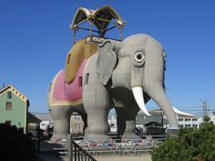 Lucy the Elephant, Atlantic City, New Jersey. Photo by iirraa.