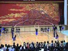 「2012 鹿児島実業高校文化祭 新体操部 ももクロ跳んでみた 」  楽しすぎー!