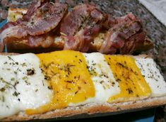 Mashed Potatoes, Bacon, Toast, Pork, Bread, Cheese, Cooking, Ethnic Recipes, Whipped Potatoes