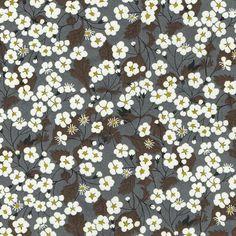 Mitsi Grey / Gray Liberty of London Tana Lawn Fabric Fat Quarter