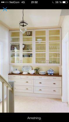 Inspirasjon til kjøkken China Cabinet, Storage, Furniture, Home Decor, Purse Storage, Decoration Home, Chinese Cabinet, Room Decor, Larger